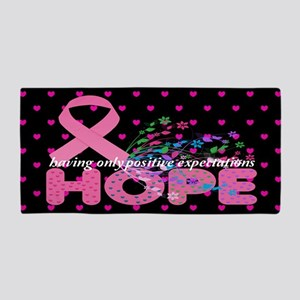 Hope For Breast Cancer Beach Towel