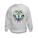 Becerill Family Crest Kids Sweatshirt