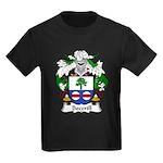 Becerill Family Crest Kids Dark T-Shirt