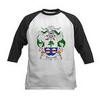 Becerill Family Crest Kids Baseball Jersey