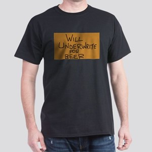 Underwrite 4 Beer Dark T-Shirt
