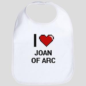 I love Joan Of Arc digital design Bib