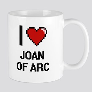I love Joan Of Arc digital design Mugs