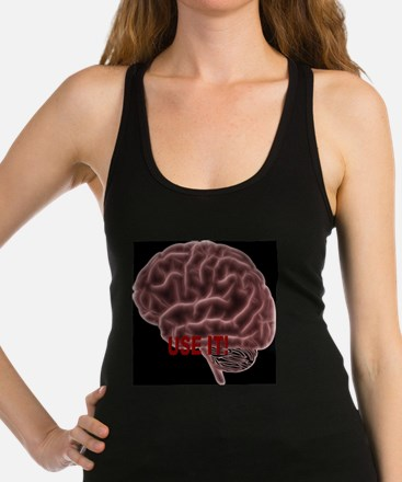 Brain enough Racerback Tank Top