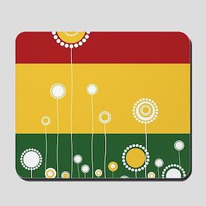 Trendy Floral Pattern Ilustration Mousepad