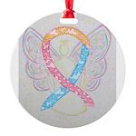 CDH Awareness Ribbon Angel Ornament