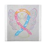 CDH Awareness Ribbon Angel Queen Duvet