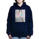 CDH Awareness Ribbon Angel Women's Hooded Sweatshi
