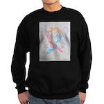 CDH Awareness Ribbon Angel Sweatshirt