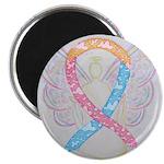 CDH Awareness Ribbon Angel Magnets