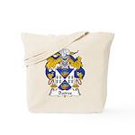 Batres Family Crest Tote Bag