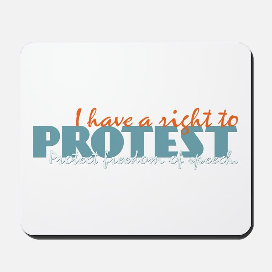Freedom of Speech Mousepad