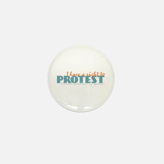 Freedom of Speech Mini Button
