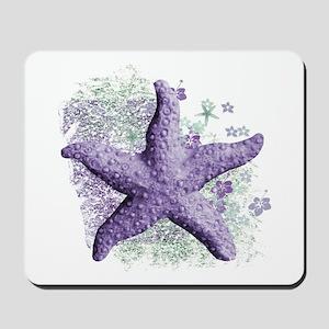 Timeless Purple Starfish Mousepad