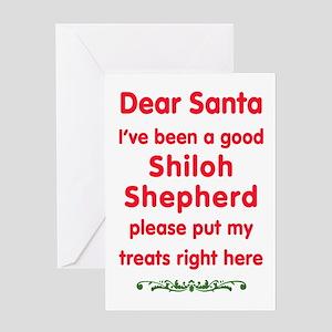Good Shiloh Shepherd Greeting Cards