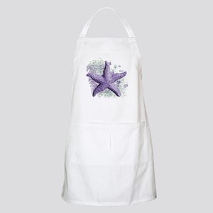 Timeless Purple Starfish Apron