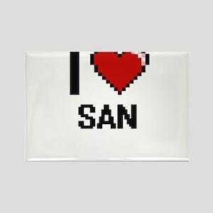 I love San digital design Magnets