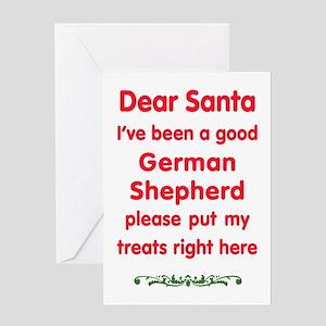 Good German Shepherd Greeting Cards