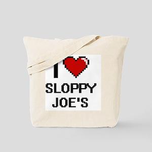 I love Sloppy Joe'S digital design Tote Bag