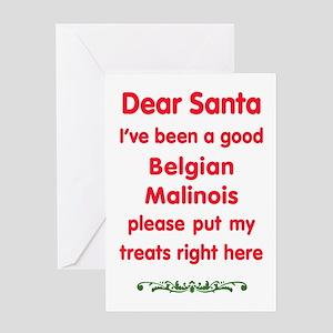 Good Belgian Malinois Greeting Cards