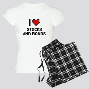 I love Stocks And Bonds dig Women's Light Pajamas
