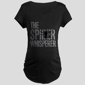 The Spider Whisperer Maternity T-Shirt