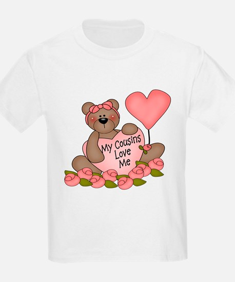 My Cousins Love Me CUTE Bear T-Shirt