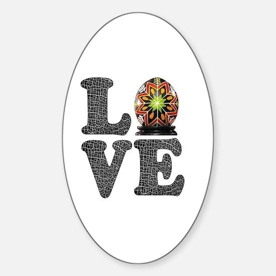Funny Ukranian Sticker (Oval)