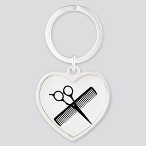 SCISSORS AND COMB Keychains