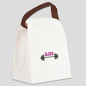 I LIFT Canvas Lunch Bag
