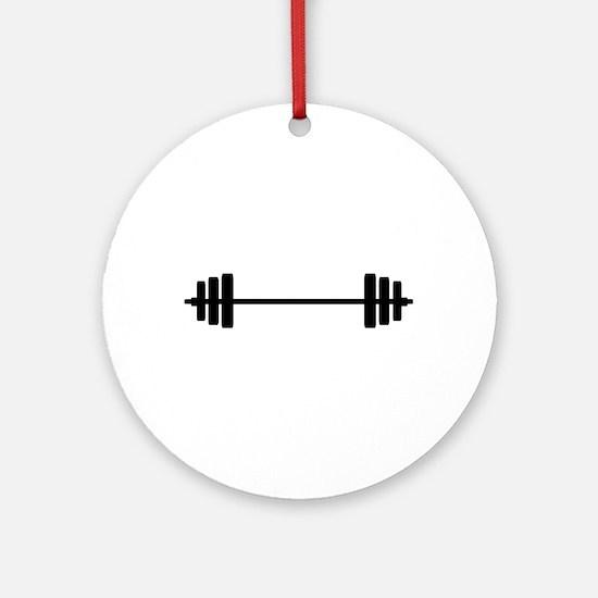 WEIGHTS Round Ornament