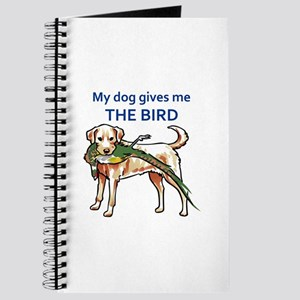 DOG GIVES ME THE BIRD Journal