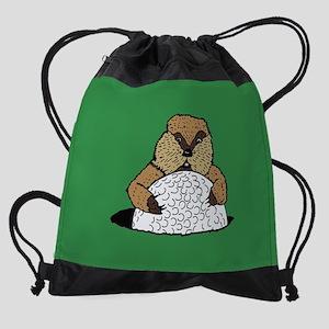 Caddyshack Gopher Drawstring Bag