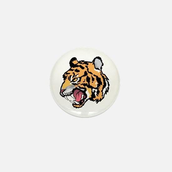TIGER MASCOT Mini Button