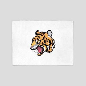 TIGER MASCOT 5'x7'Area Rug
