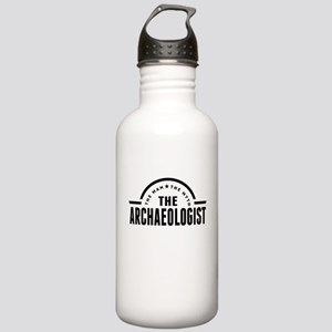 The Man The Myth The Archaeologist Water Bottle