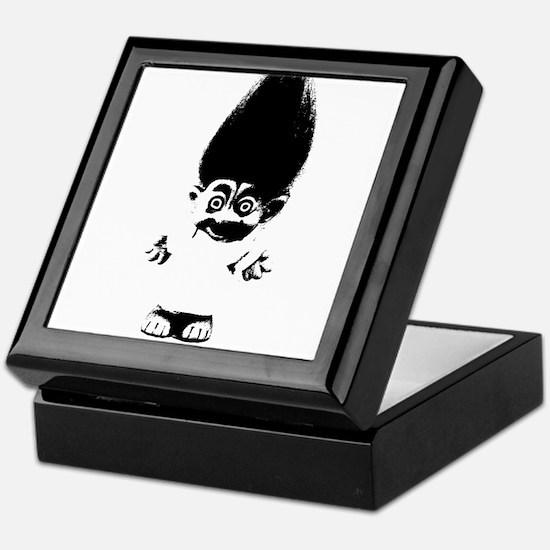 Cute Troll Keepsake Box