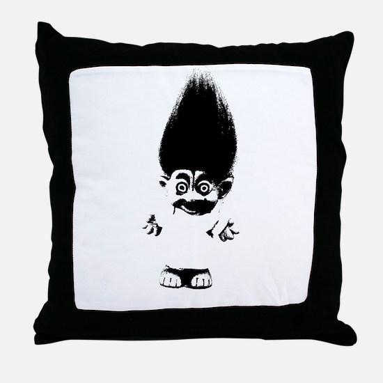 Cute Troll Throw Pillow