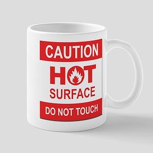 Caution Hot Surface Mugs
