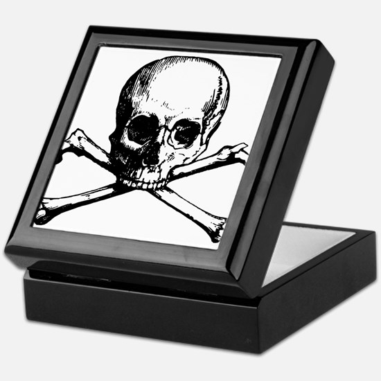 Skull and Bones Keepsake Box