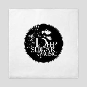 3 LG Deep Sugar Blk double line Queen Duvet