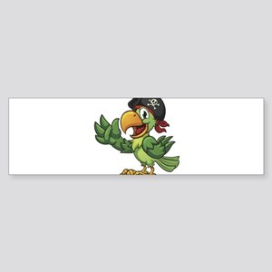 Pirate-Parrot Bumper Sticker