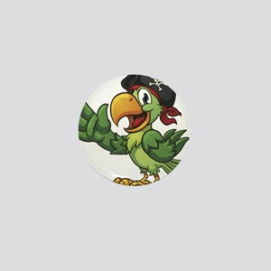Pirate-Parrot Mini Button