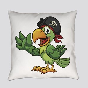 Pirate-Parrot Everyday Pillow