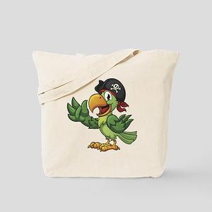 Pirate-Parrot Tote Bag