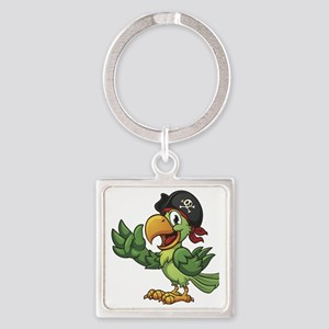 Pirate-Parrot Keychains