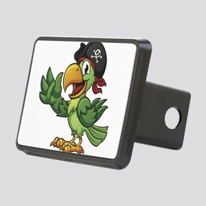 Pirate-Parrot Rectangular Hitch Cover