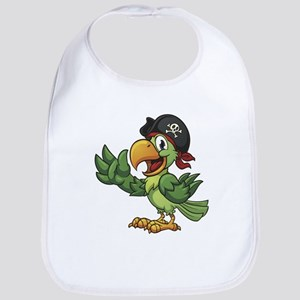 Pirate-Parrot Bib