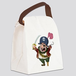 Pirate Canvas Lunch Bag