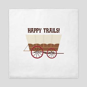 Happy Trails Queen Duvet